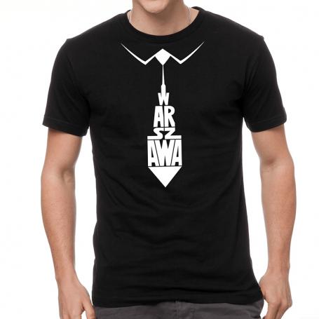 Varsovia camiseta, corbata
