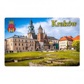 Magnes na lodówkę z efektem 3D Kraków Wawel Katedra Królewska