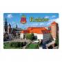 Aimant pour réfrigérateur avec effet 3D Cracow, Wawel