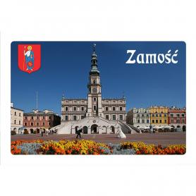 Fridge magnet with a 3D effect Zamość Rynek