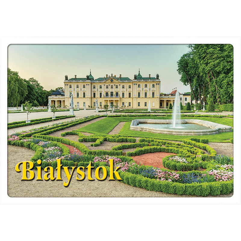 Carte postale 3D Bialystok