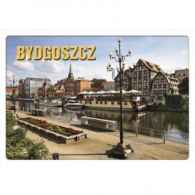 3D postcard Bydgoszcz