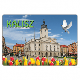 3D-Postkarte Kalisz