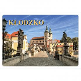 3D postcard Kłodzko