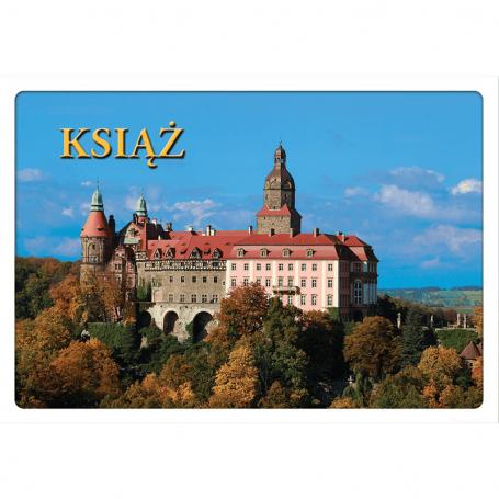 Carte postale 3D Książ