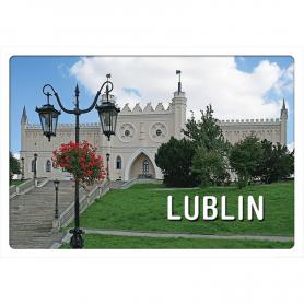 3D-Postkarte Lublin