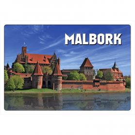 3D postcard Malbork