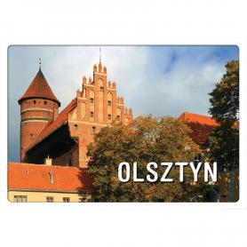 Postkarte 3D Olsztyn