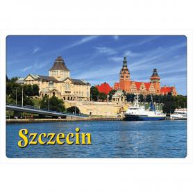 Postkarte 3D Szczecin