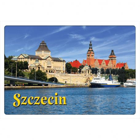 Pocztówka 3D Szczecin