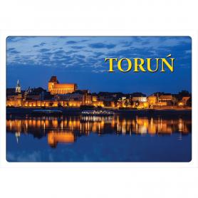 Pocztówka 3D Toruń