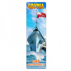 3D book tab - Gdynia ORP Błyskawica