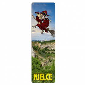 Bookmark 3D - Kielce