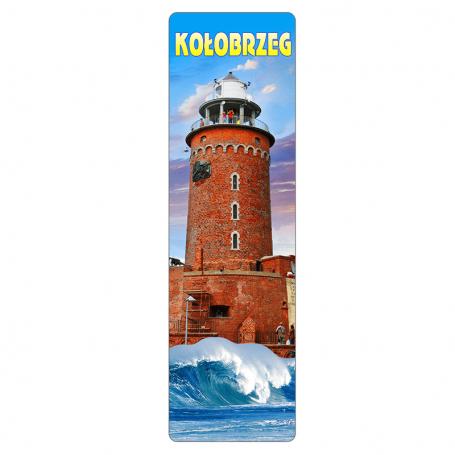 Zakładka do książki 3D - Kołobrzeg