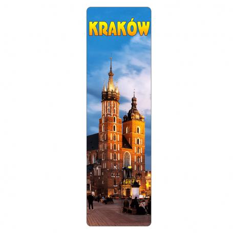 Zakładka do książki 3D - Kraków