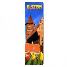 Zakładka do książki 3D - Olsztyn