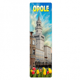 Zakładka do książki 3D - Opole