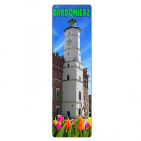 Lesezeichen 3D - Sandomierz