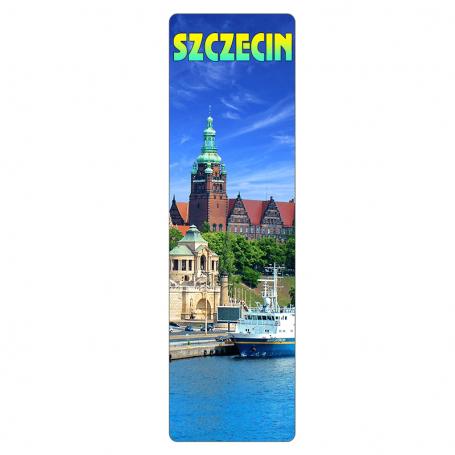 Zakładka do książki 3D - Szczecin
