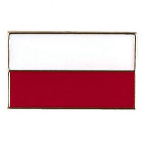 Botones, alfiler de bandera polaca, recto