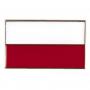 Boutons, drapeau polonais, droite