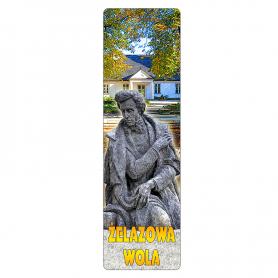 3D book tab - Żelazowa Wola
