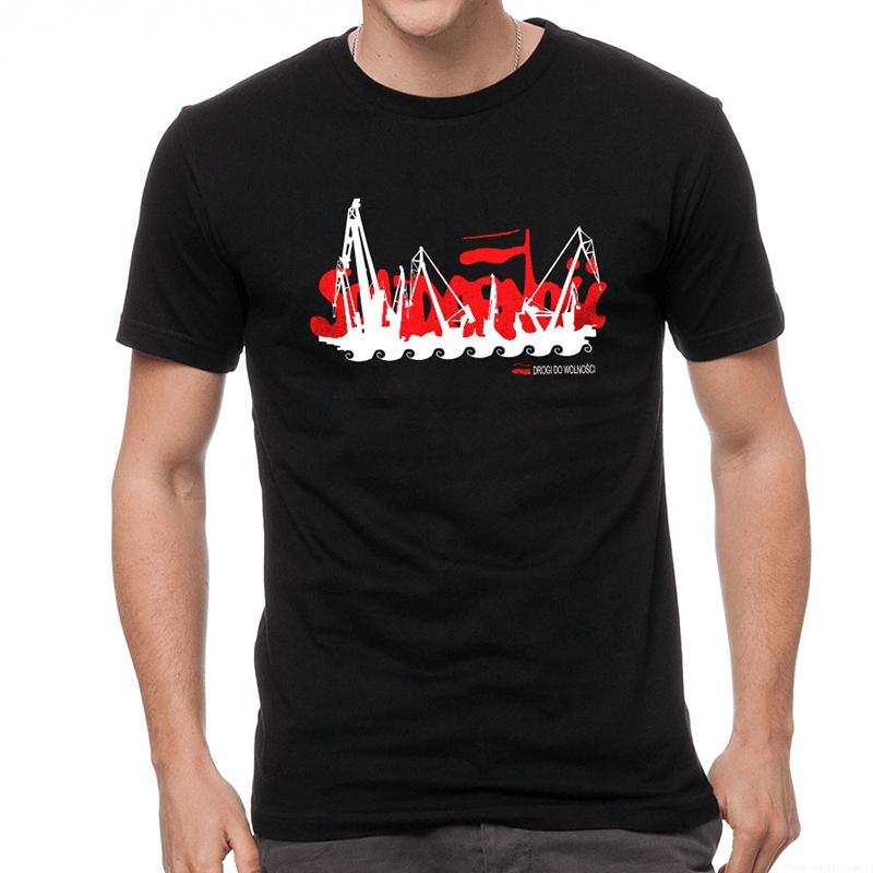 Koszulka Solidarność dźwigi