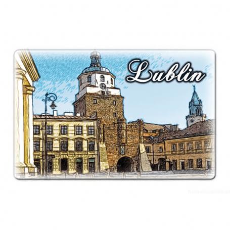 Magnes na lodówkę Lublin