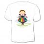 Koszulka dziecięca Polska Dziewczynka folk