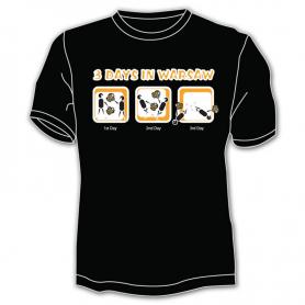 T-shirt Warsaw 3 days
