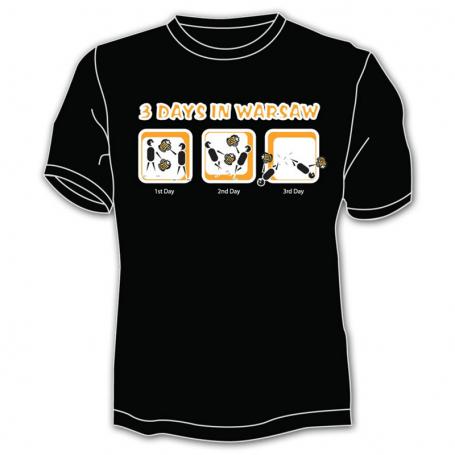Camiseta Varsovia 3 días