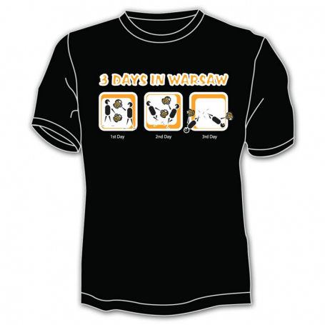 T-shirt Varsovie 3 jours