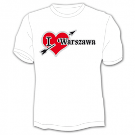 T-shirt J'aime Varsovie