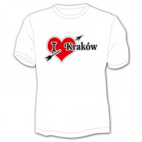 T-shirt I love Krakow
