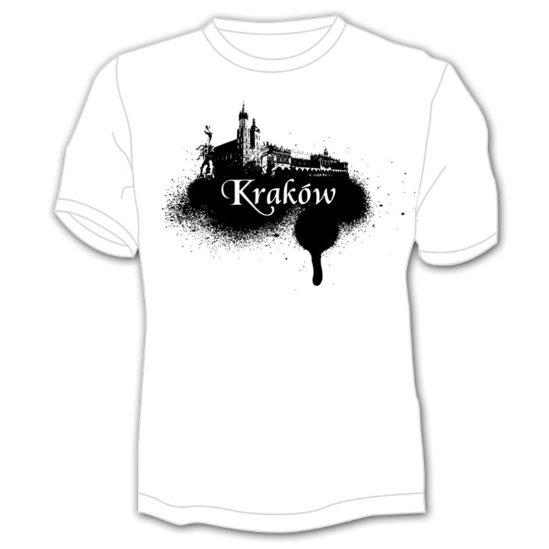 Krakow panorama spray shirt
