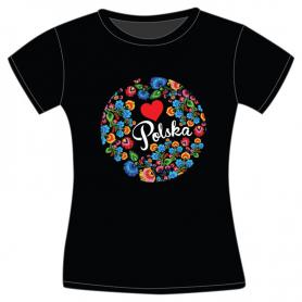 Koszulka Polska Folk damska