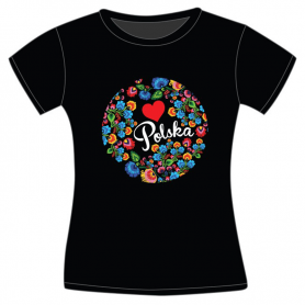 Kinder T-Shirt Polen Folk