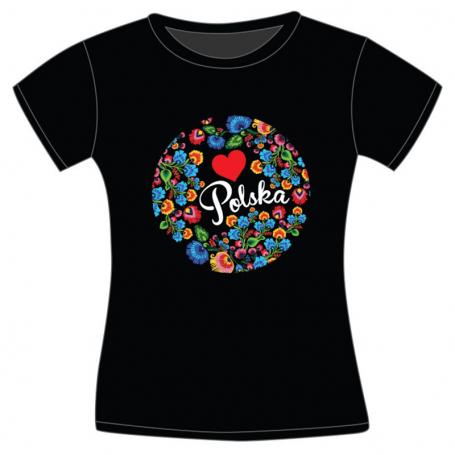 Koszulka dziecięca Polska folk