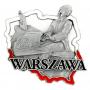 Aimant frigo en métal Varsovie Chopin
