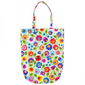 Einkaufstasche aus Baumwolle Lowicz - weiß