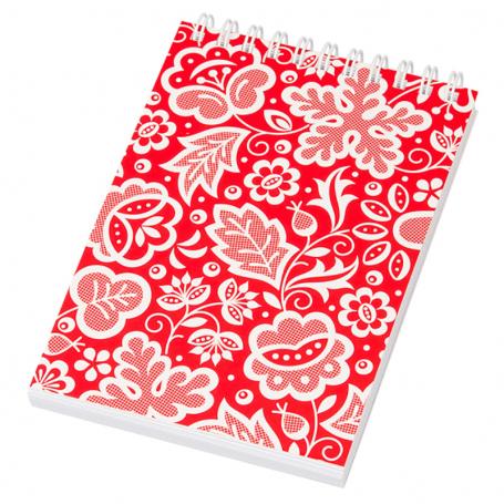 Cahier à spirale A6 - Rouge Kujawski