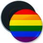 Button magnes na lodówkę flaga LGBT