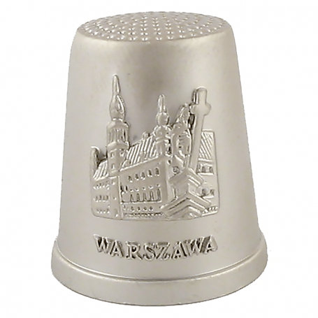 Dé à coudre en métal Varsovie - Château