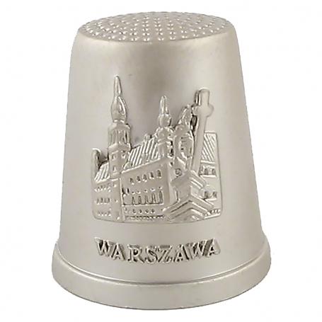 Dedal de metal Varsovia - Castillo