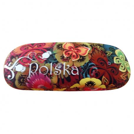Etui do okularów Polska kwiaty