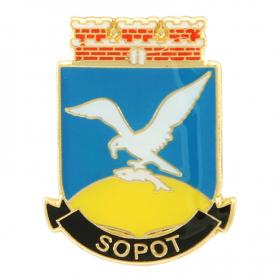 Pin, Pin Mantel von Sopot