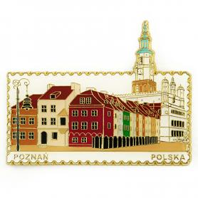 Magnes na lodówkę znaczek Poznań - Starówka