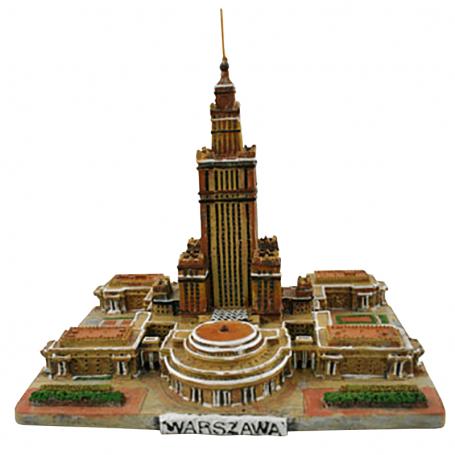 Estatuilla del Palacio de la Cultura de Varsovia, pequeña