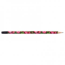 Bleistift mit Radiergummi - Highlander schwarz