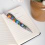 Długopis ludowy - łowicki czarny